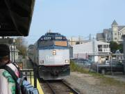 Downeaster Train Boston to Brunswick Maine