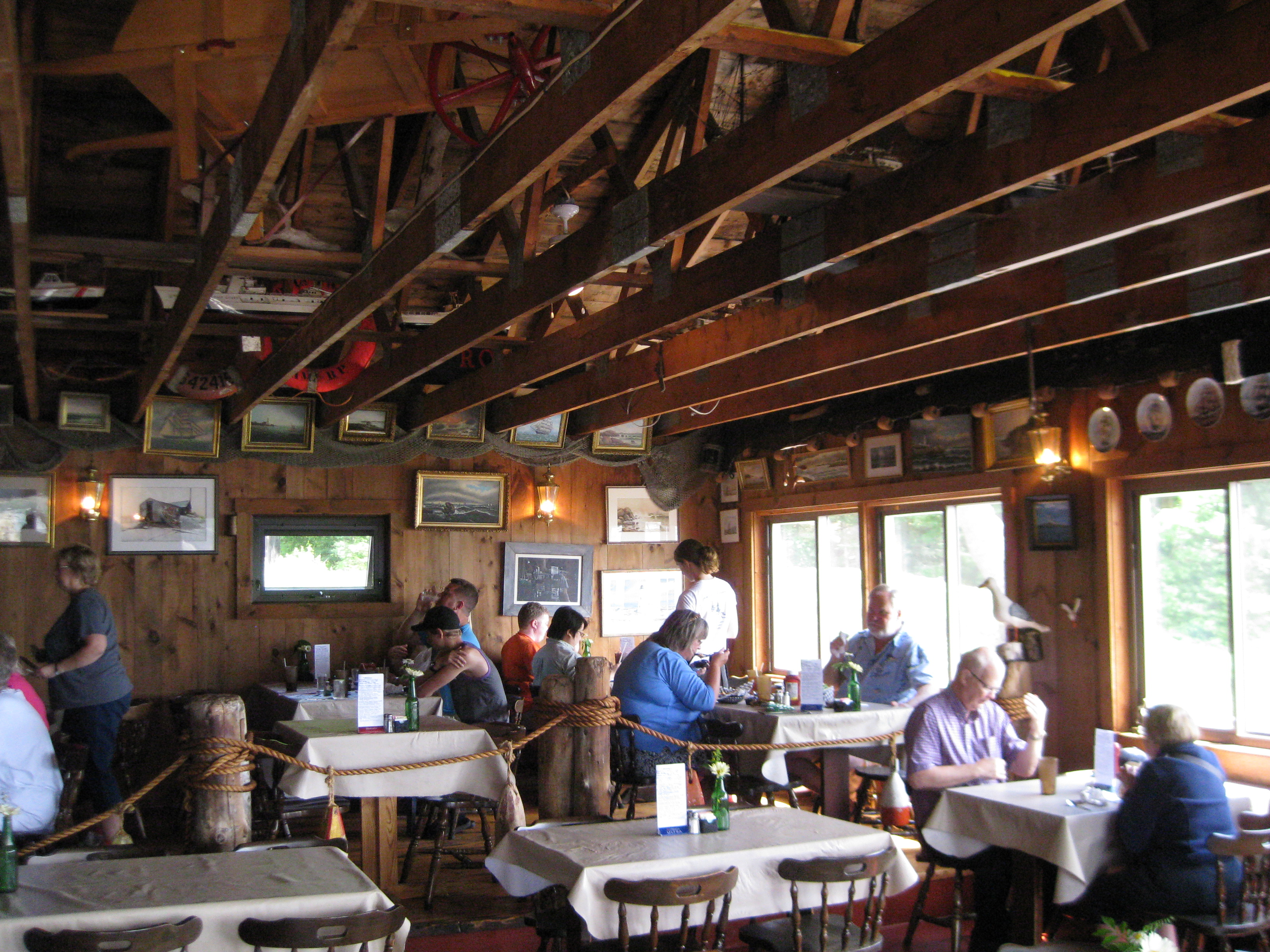 Best Seafood Restaurant In Mid Coast Maine Maine Mid Coast